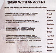 how to learn a german accent